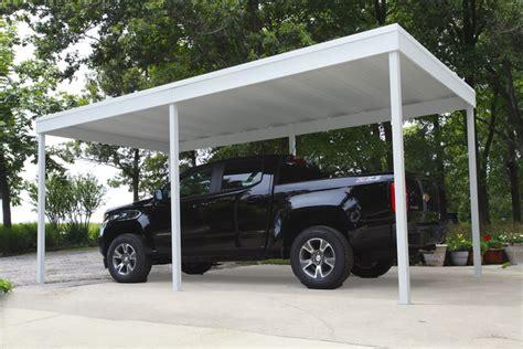 Freestanding Carports by Freestanding Patio Cover Carport 10x20 Carports Arrow
