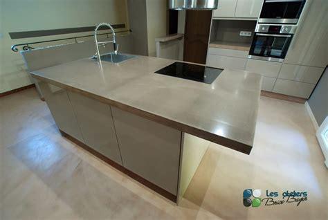 cuisine b on cir beton cire mur cuisine photos de conception de maison