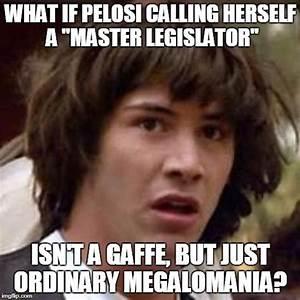 Nancy Pelosi Said What?! - Imgflip