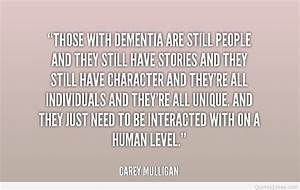 Best Inspiratio... Nice Dementia Quotes