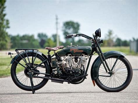 Harley Davidson Dj Classic Vintage Motorcycle