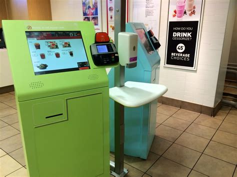 Hiring Kiosk by Mcdonald S Testing Out New Automated Cashiers