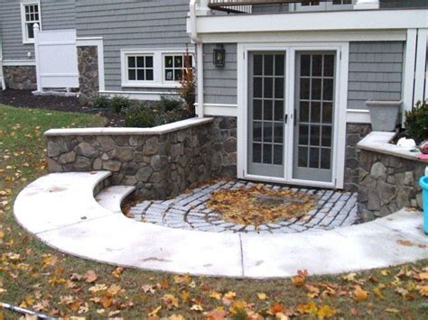 Design Of Basement Retaining Wall by 17 Best Images About Walk Out Basements On Pinterest
