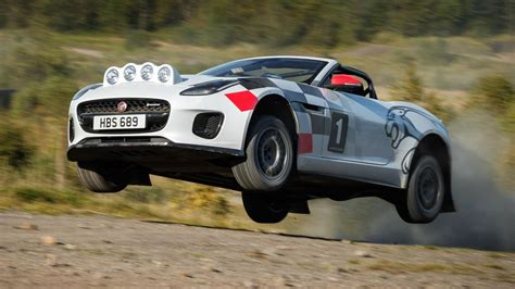 Jaguar's One-off F-type Rally Car Is The Gnarliest Kind Of