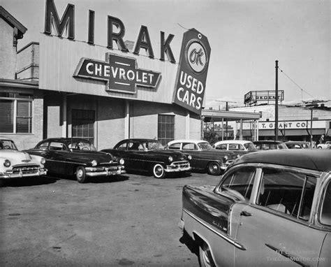 mirak chevrolet   cars boston memorabilia