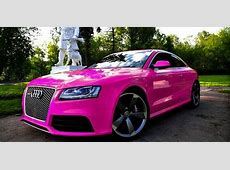 Breast Cancer Awareness Month Pink Supercar Special