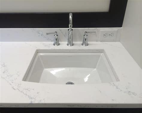quartz countertops kohler archer undermount sink