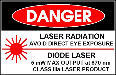 laser light warning label laser pointers information engineering360