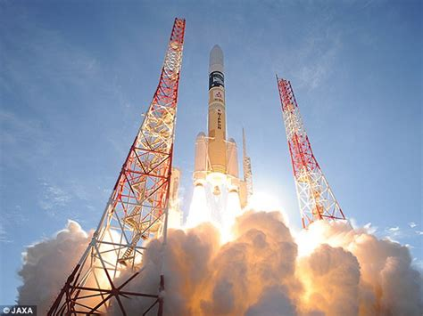 Japan Launches Super Low Altitude Satellite Daily Mail