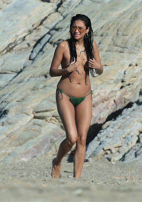 Shay Mitchell Goes Topless On The Beach In Greece See The Pic Aol Entertainment