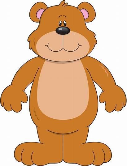 Bear Clipart Clip Weather Printable Cartoon Teddy