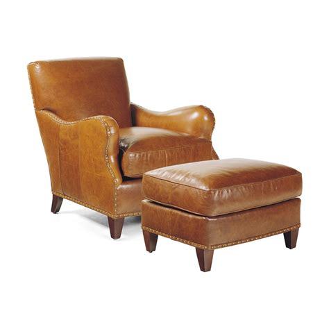 hancock and moore leather chair and ottoman hancock and moore 1946 1945 princeton chair ottoman
