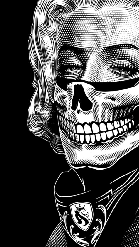 Marilyn Bandit Scoop Neck Tee in 2019 | Marilyn monroe artwork, Mexican art tattoos, Art sketches