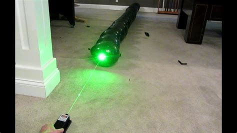 2000mw Green Laser Vs Line Of 20 Balloons! 2w @ 532nm Class Iv!!! Youtube