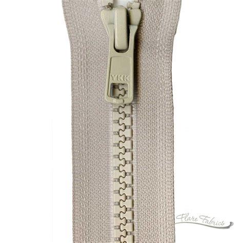 ykk   separating zipper flare fabrics