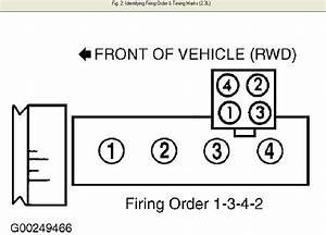 Firing Order For A 2001 Ford Ranger
