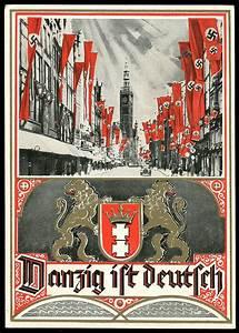 Was Ist Vintage : danzig ist deutsch danzig is german postcard ca 1939 ww ss poster pinterest ~ Markanthonyermac.com Haus und Dekorationen