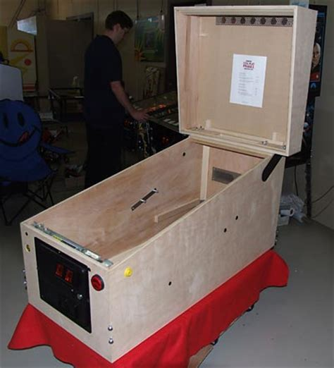 Pinball Cabinet Plans by Arcade Machine Wood Plans Build By Own
