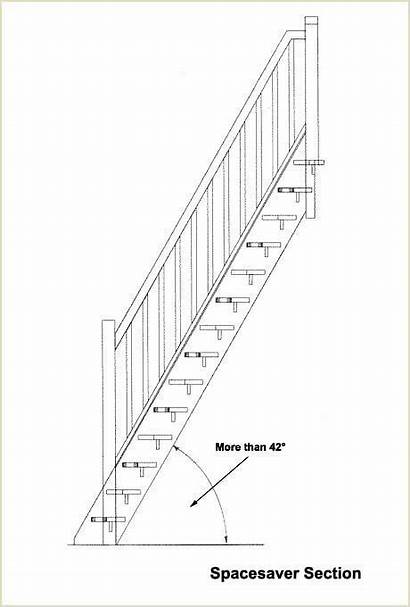 Staircases Space Spacesaver Saver Stairs Staircase Angle