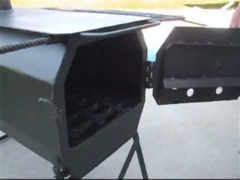 homemade wall tent stove youtube