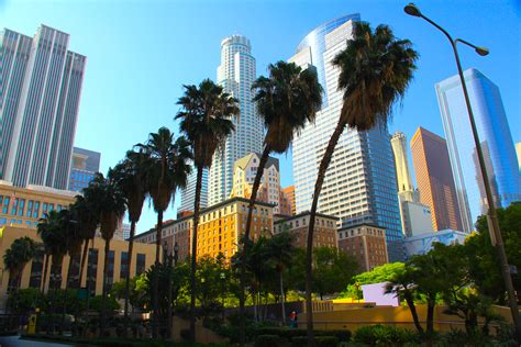 Changing scenery of Los Angeles Downtown