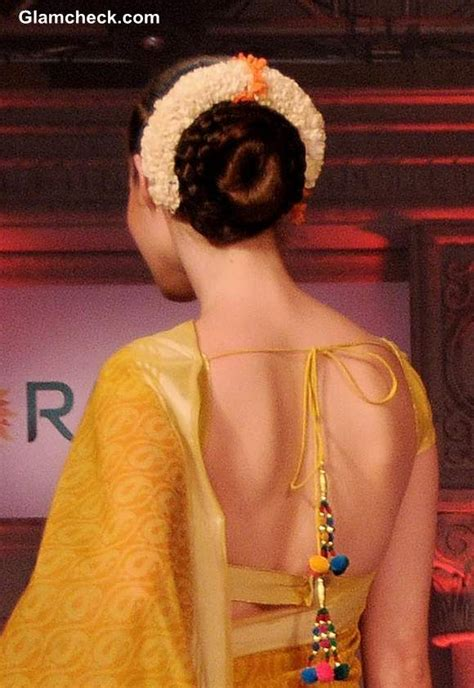 gajra hairstyles   occasions