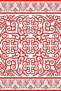 Seamless Chinese Tile Texture for 3ds Max - Free 3D Model