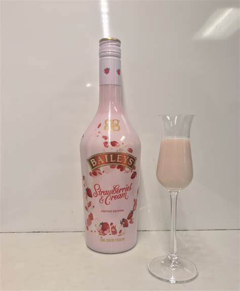 baileys releases limited edition strawberries  cream