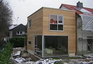 Anbau Fertighaus Kosten : holzanbau energetische sanierung eines reihenhauses ~ Lizthompson.info Haus und Dekorationen