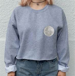 Moon Lovers Tumblr crop top sweater hipster shirt tumblr