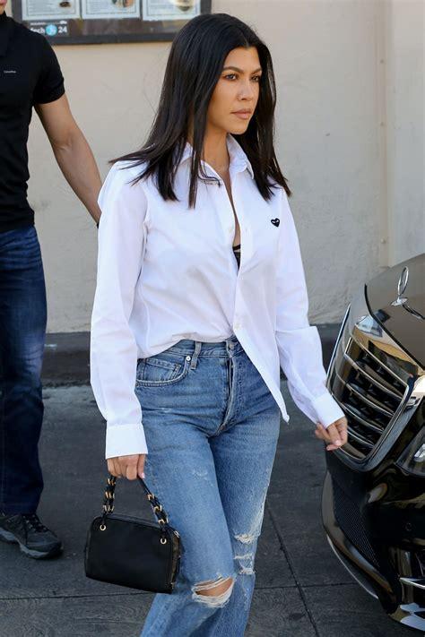 Kourtney Kardashian at Carousel Restaurant in Hollywood ...