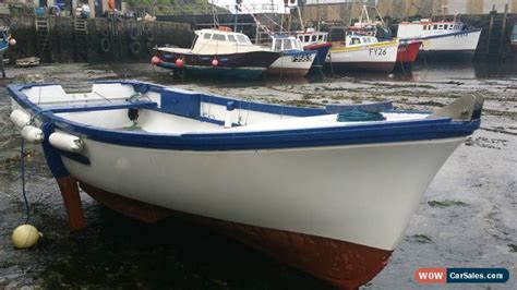 16 Foot Fishing Boat For Sale Uk by 16ft Open Fishing Boat Oyster Hull Wide Beam For Sale In