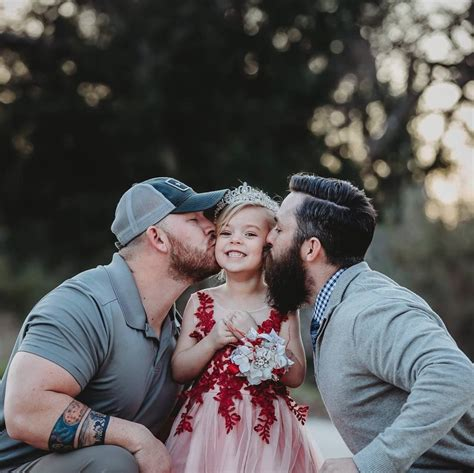 How Dad Stepdad Coparent Their Shared Daughter