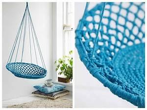 Fauteuil Suspendu Macramé : 10 fauteuils suspendus blog d co design clem around the corner ~ Teatrodelosmanantiales.com Idées de Décoration