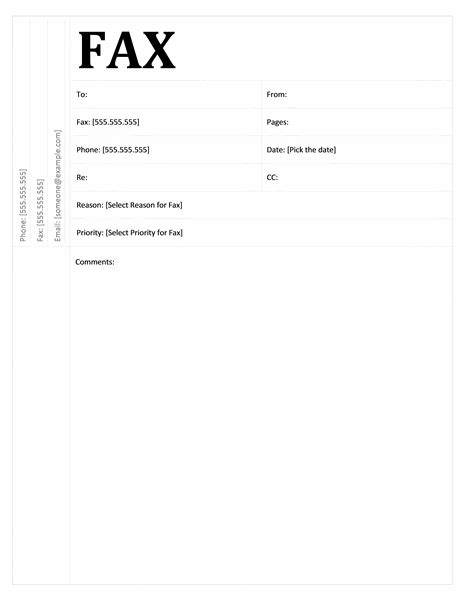 12373 free basic fax cover sheet fax covers office