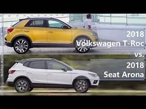 Seat Arona Dimensions : 2018 volkswagen t roc vs 2018 seat arona technical comparison ~ Medecine-chirurgie-esthetiques.com Avis de Voitures