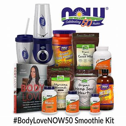 Kelly Leveque Smoothie Supplements Sweepstakes Kit Nowfoods
