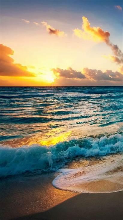 Wallpapers Iphone Lock Screen Beach Sunset Phone
