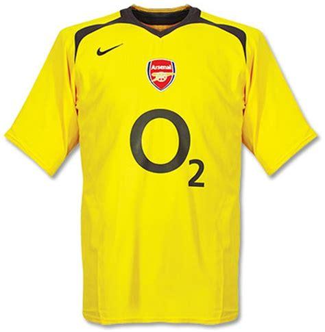 Yellow Arsenal Away Kit 2008/09 - YouTube