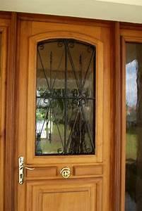 Sonnette Porte D Entrée : porte d 39 entr e vitr e elle donne une premi re impression ~ Dailycaller-alerts.com Idées de Décoration