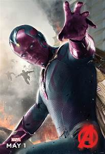 Check Out The Vision Poster For Marvel U0026 39 S Avengers  Age Of