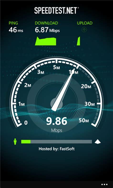 speedtestnet app finally   windows phone