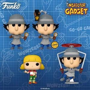 go go inspector gadget funko pops