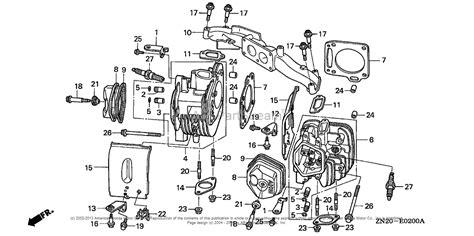 Honda Engines Gxv Tae Engine Jpn Vin Gjah