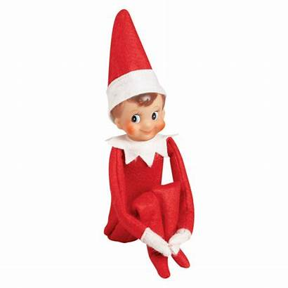 Elf Shelf Christmas Clipart Clip Pages Coloring