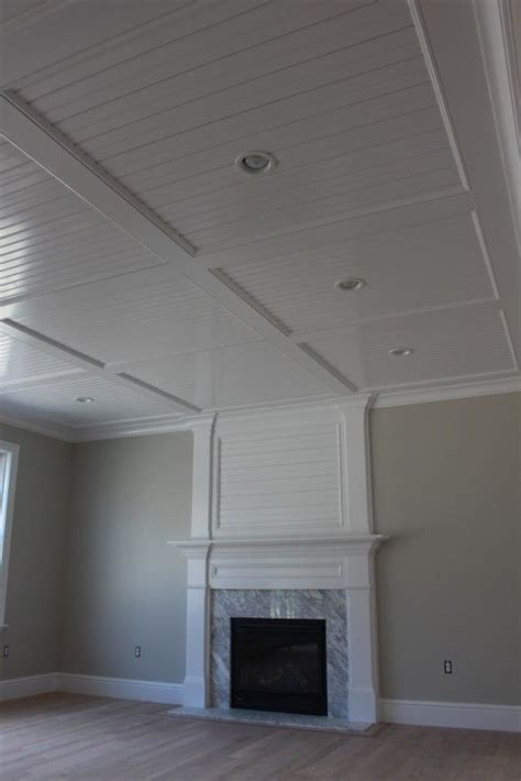beadboardrecesspanelceiling custom home finish schaab project ceiling dropped ceiling