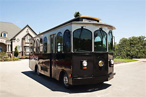 Show up in style in this Kansas City Trolley!
