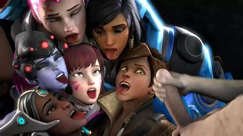 Zarya Cumshot Surprise Overwatch Hentai