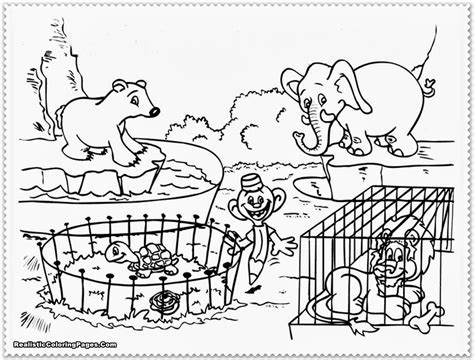 Coloring Zoo by Zoo Animal Coloring Pages Bestofcoloring