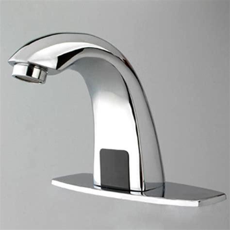 automatic kitchen sink faucets automatic sensor bathroom sink faucet faucetsuperdeal com